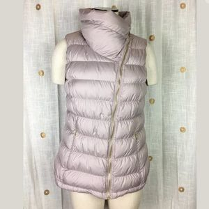Athleta Downabout Cardamon Spice Down Vest L Flaw